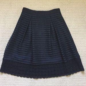 Ted Baker Navy Textured Skirt!!